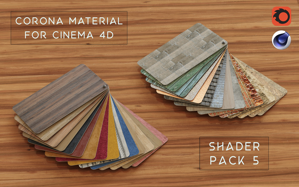 Corona-material-library-c4d-PBR-4K-textures-Pack-5
