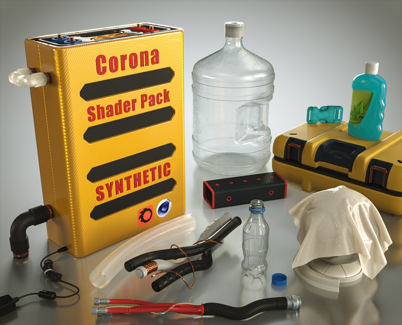 PACKAGE Corona material library